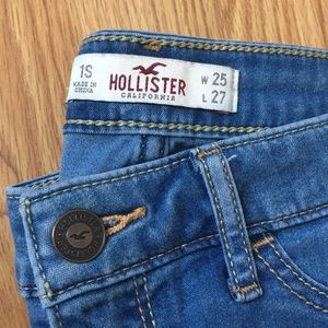 Hollister Jeans - Light blue skinny jeans